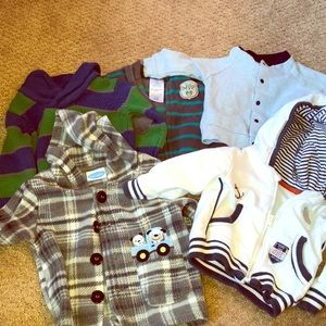 Other - Boy's set of 5 tops